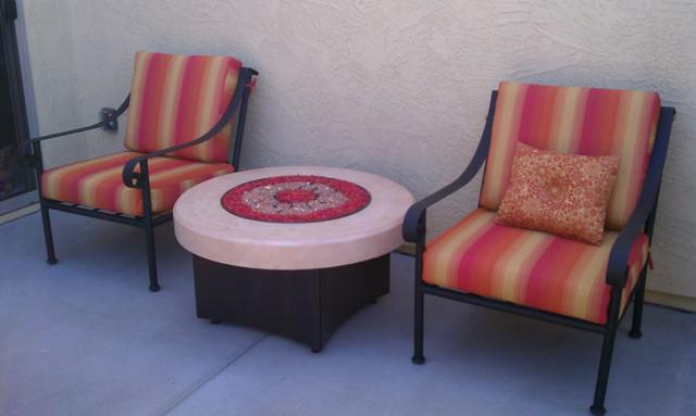 Furnishing and Decorating a Small Patio