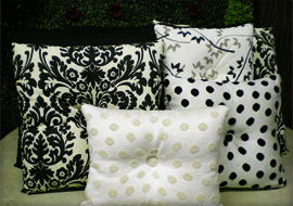Accent Pillows by Sunset Patio