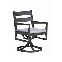Swivel Rocking Dining Arm Chair