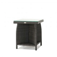 End Table w Clear Glass