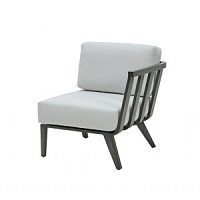 R Arm Sectional Chair
