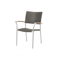 New Roma Arm Chair (Teak)