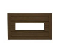 "Arlington 50"" x 29"" (Country Brown)"