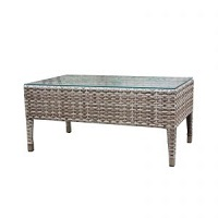Coffee Table w Clear Glass